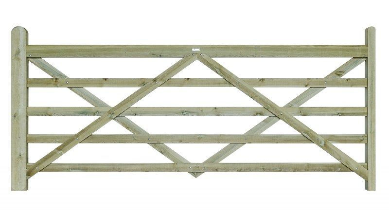 10ft Field Gate Treated Earnshaws Fencing Centres