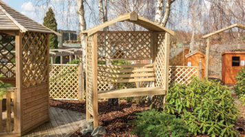 Apex Arbour With Seat