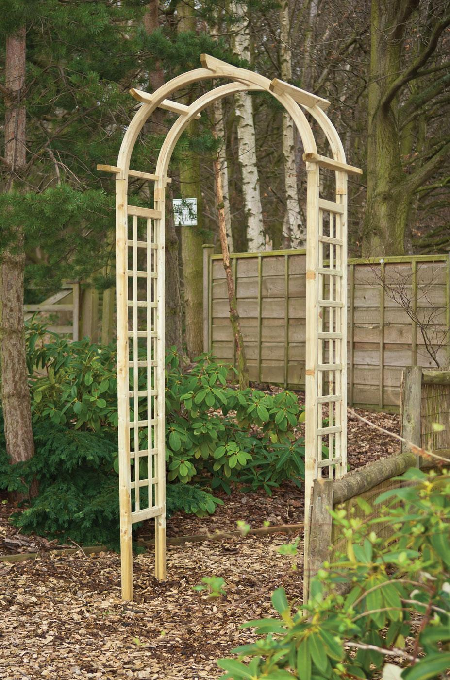 Rose Arch Earnshaws Fencing Centres