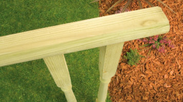Decking Spindles and Handrail