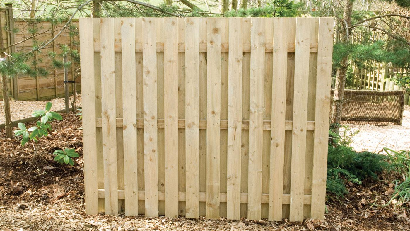 Double Sided Paled Panels Earnshaws Fencing Centres