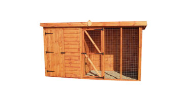 Pent Dog Kennel and Run