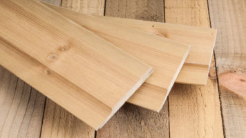 Planed Timber Cladding
