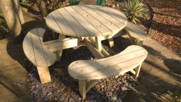 Round Picnic Benches