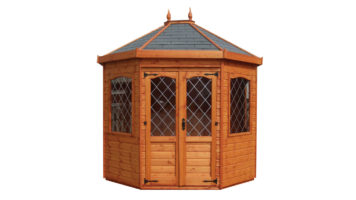 Stretched Octagonal Summerhouse