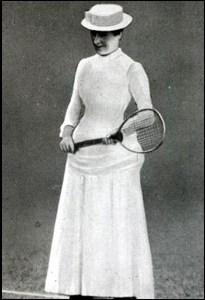 First female Wimbledon Champion, Maud Watson, 1884