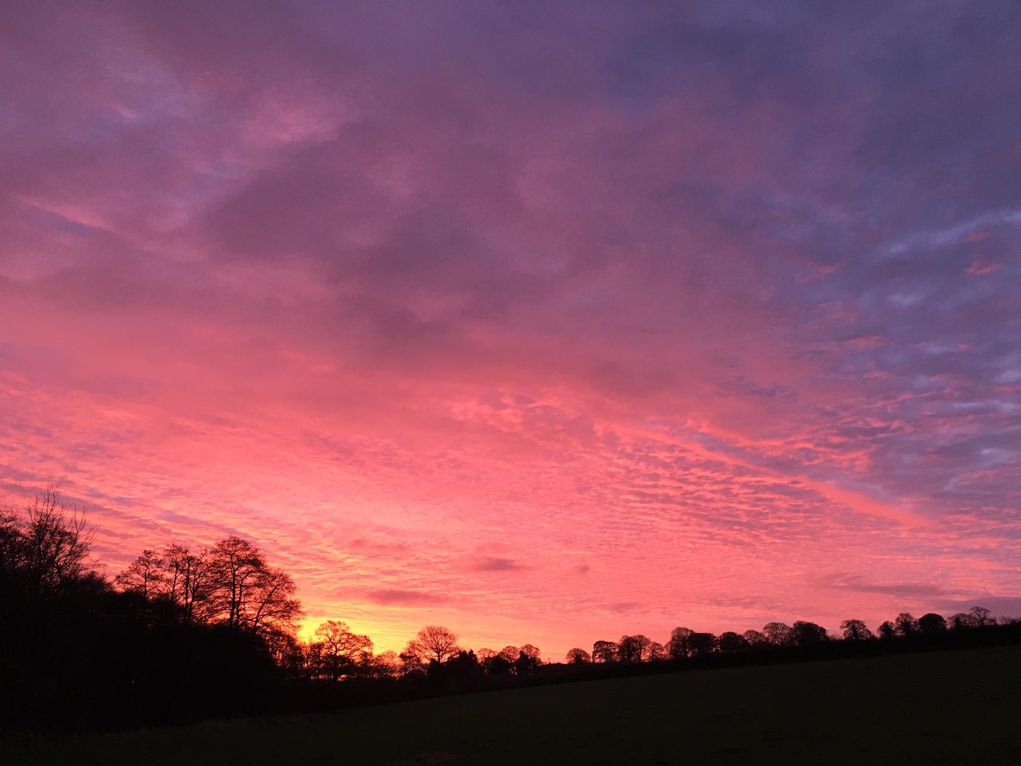 Red Sky In The Morning Shepherd S Warning Earnshaws
