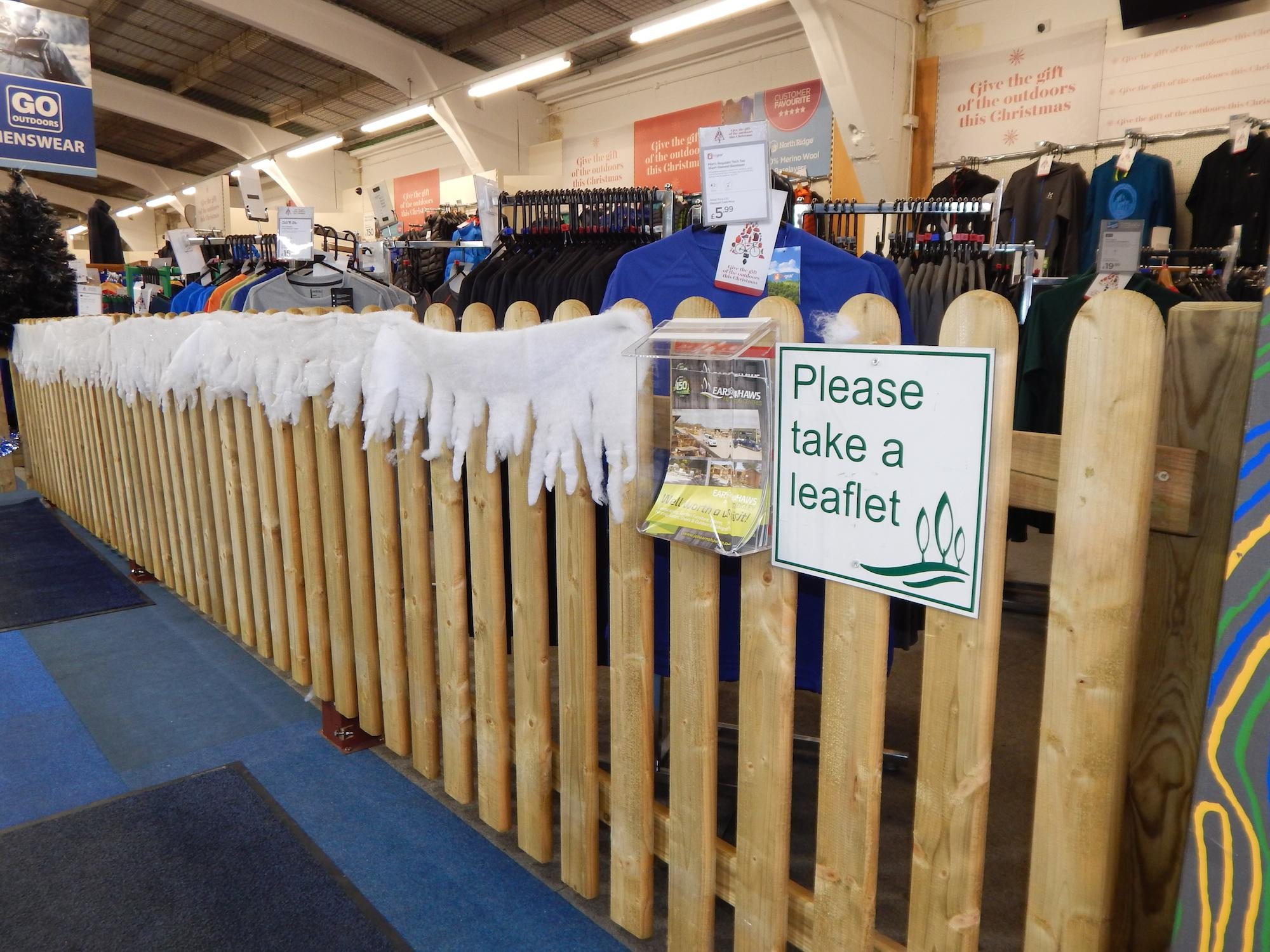 Earnshaws Fencing Centres in Go Outdoors