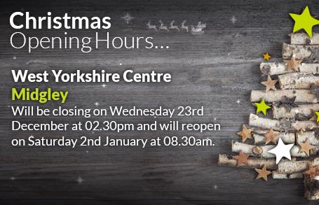 Midgley Opening Hours