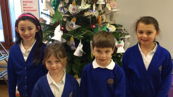 St Aidan's School Decks the Halls!
