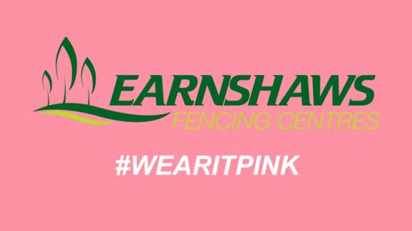 Earnshaws Staff Wear it Pink