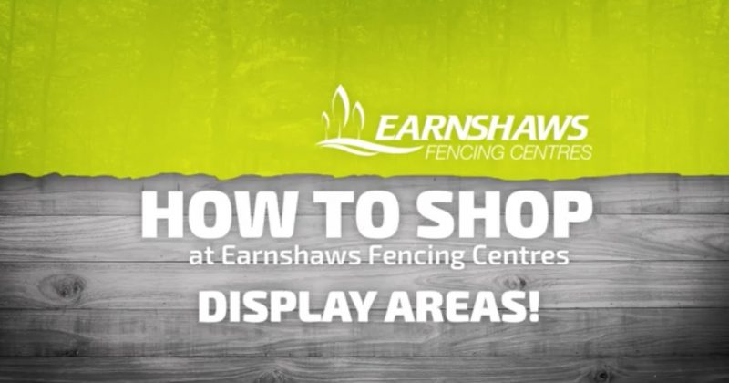 How to shop - Display Areas