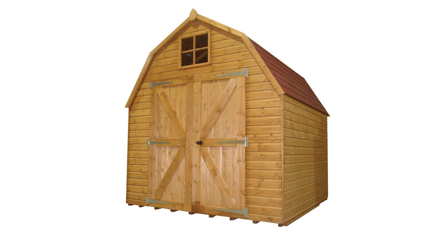 traditional dutch barn shed - Garden Sheds Huddersfield