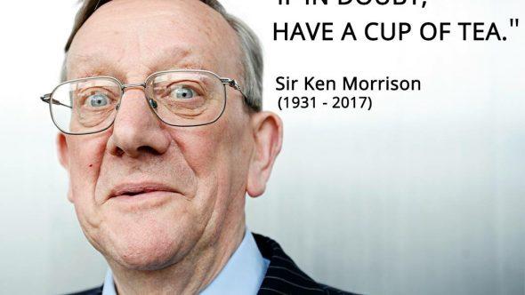 A Sad Farewell to Sir Ken Morrison