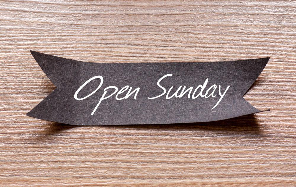 Brigg Centre Open Sundays