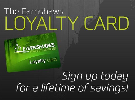The Earnshaws Loyalty card