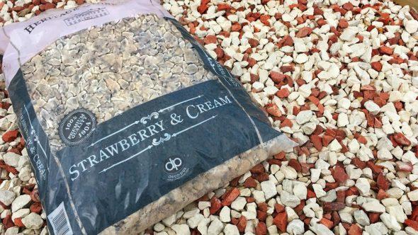 New 'Wimbledon' Strawberry & Cream Gravel