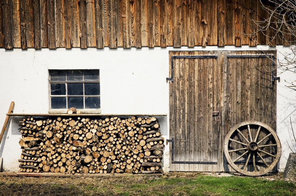 Firewood and Log Storage