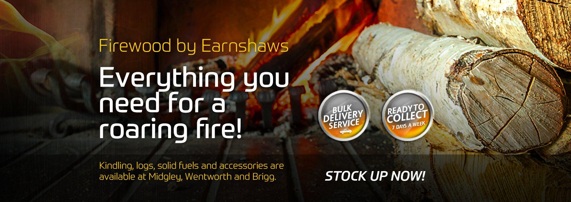 Everything you need for a roaring fire this Autumn!