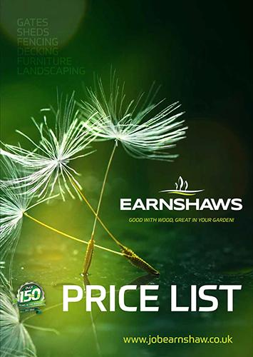 Earnshaws Price List 2018