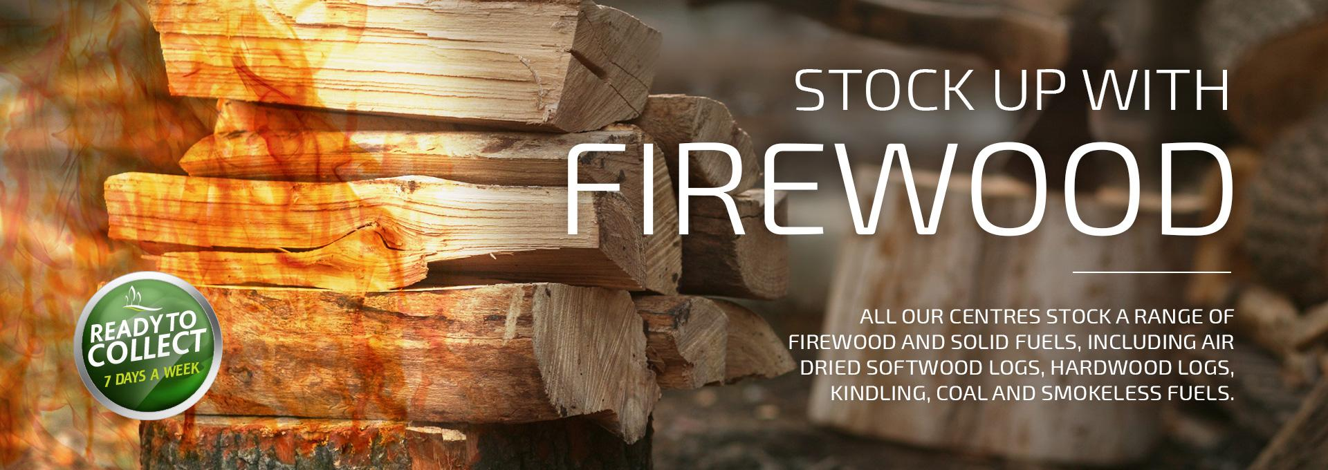 Earnshaws Fencing Centres Web Banner Firewood and Coal