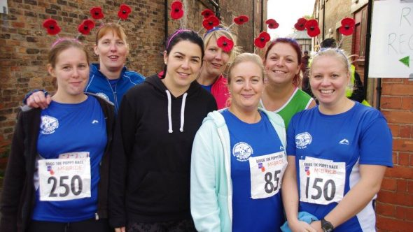 Come and Support the Brigg 10K Poppy Race