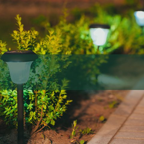 Garden Lighting - Earnshaws Fencing Centre