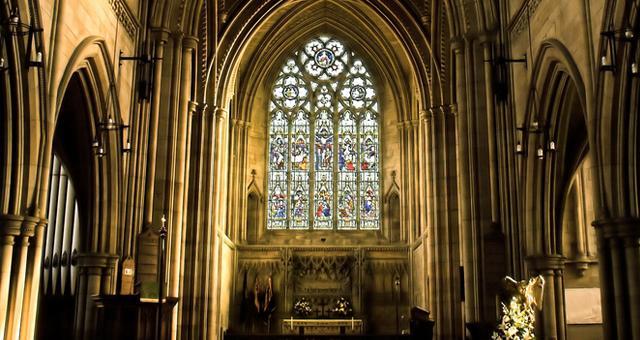 Inside Wentworth Church