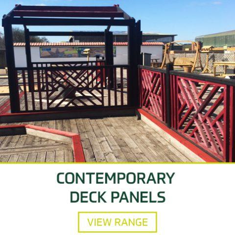 deck panels at earnshaws fencing centre