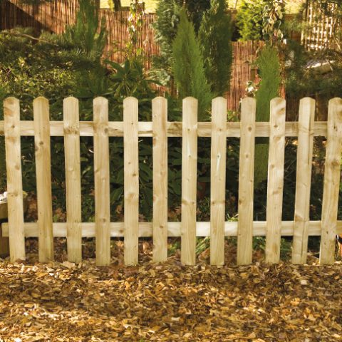 Paliside fence panels