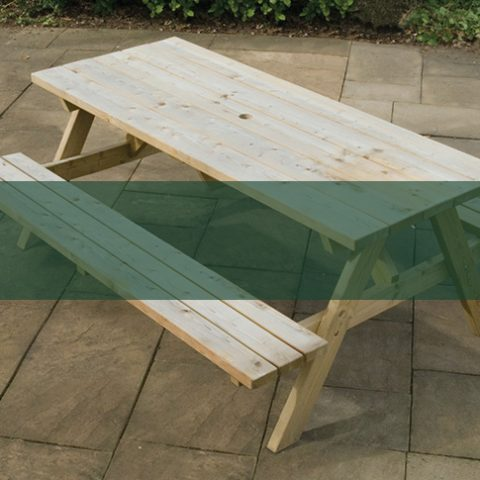 Picnic Benches and Tables - Earnshaws Fencing Centres