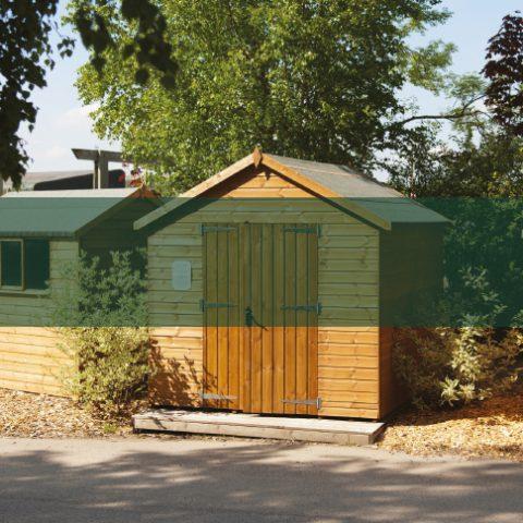 Quality Garden Sheds - Earnshaws Fencing Centre