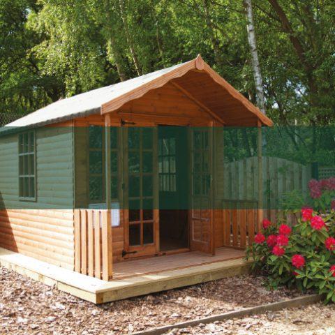 Quality Summerhouses - Earnshaws Fencing Centre