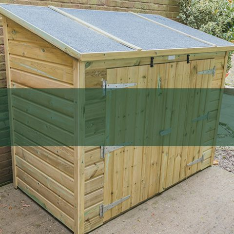 Shed Accessories - Earnshaws Fencing Centres