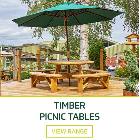 Timber Picnic Tables