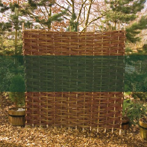 willow panels earnshaws fencing centres