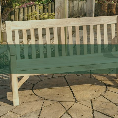 Wooden Benches - Earnshaws Fencing Centres