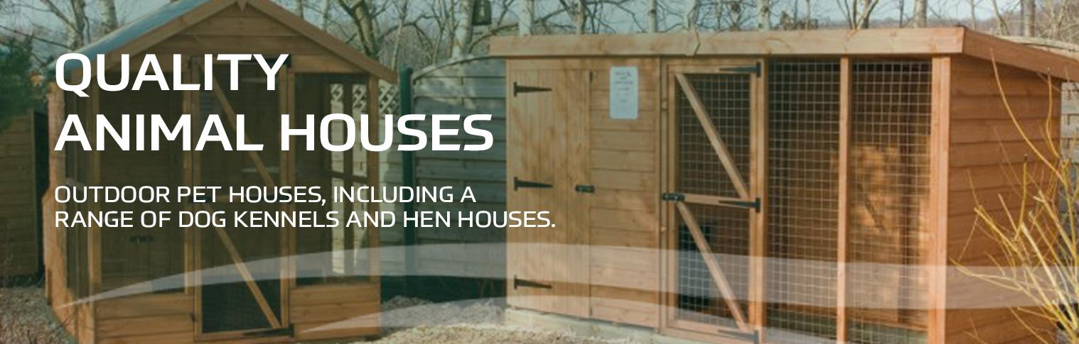 Quality Animal houses at earnshaws fencing centres header