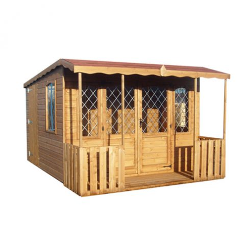 Quality Summerhouses at Earnshaws Fencing Centres