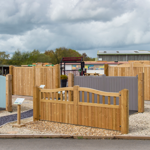 Your one stop shop for Driveway Gates at Earnshaws fencing centre