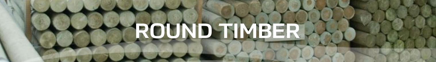 round timber at earnshaws fencing centre