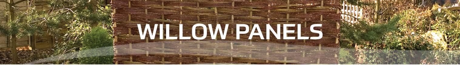 willow panels at earnshaws fencing centres
