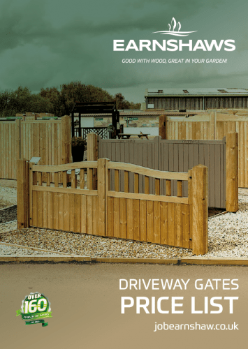 EFC Driveway Gates Price List 2021