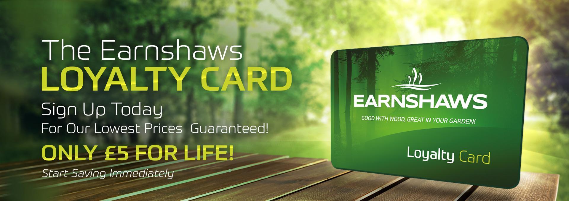 loyalty card at earnshaws fencing centres