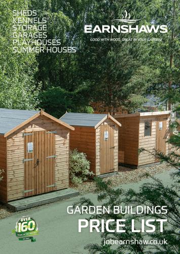 Garden Buildings Price List