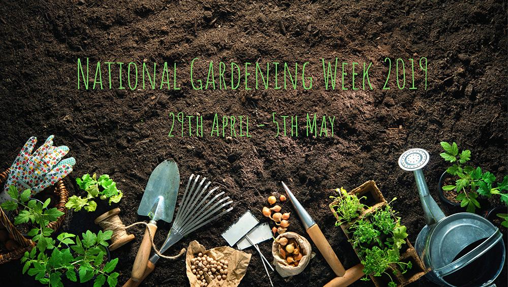 National Gardening week 2019 at earnshaws fencing centres