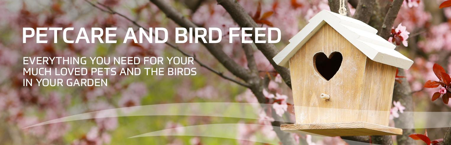 petcare and birdfeed at earnshaws fencing centres