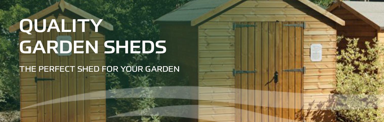 Quality Garden Sheds Header Image