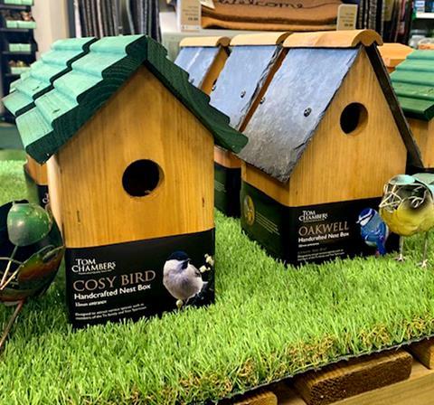 Bird Boxes at Earnshaws