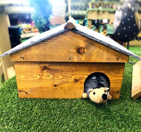 Hedgehog Houses at Earnshaws